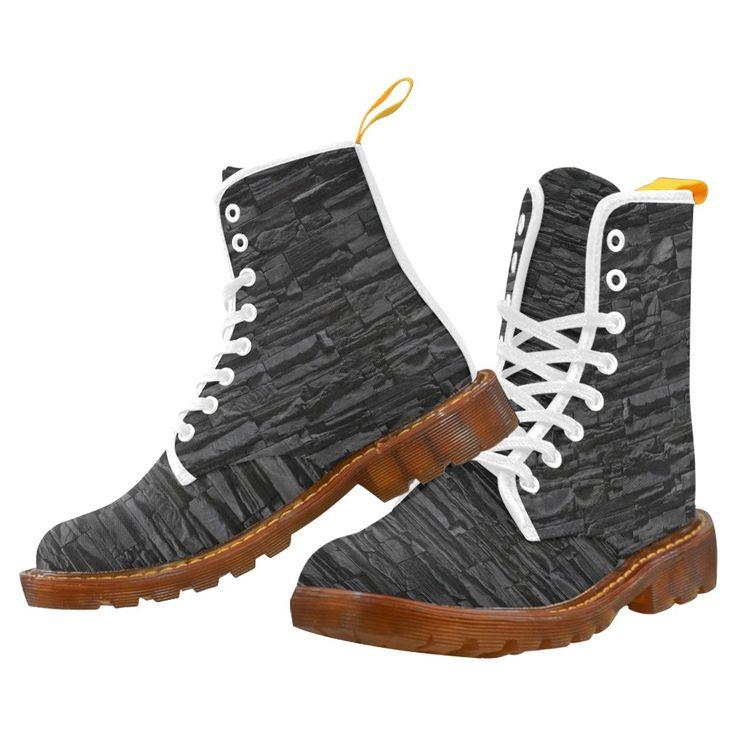 Black Stone Martin Boots For Men