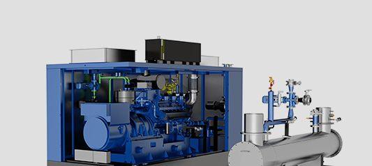 Когенерационные установки с восстановленным двигателем