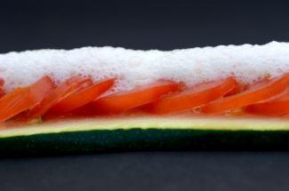 Émulsion de parmesan | Cuisine Moléculaire  2g de lécithine de soja250mL de lait75g de parmesan râpé