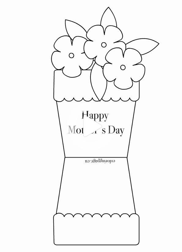 Mothers Day Cards Template Beautiful Free Printable Coloring Pages For Any Occasio Mothers Day Card Template Mothers Day Coloring Pages Happy Mother S Day Card