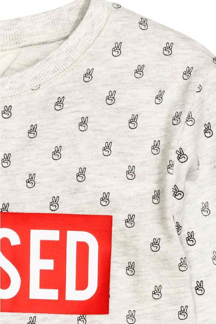 Sudadera con estampado | H&M