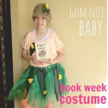 "Gumnut baby <a href=""http://theorganisedhousewife.com.au/craft/kids-craft/book-week-costume-ideas"" ..."