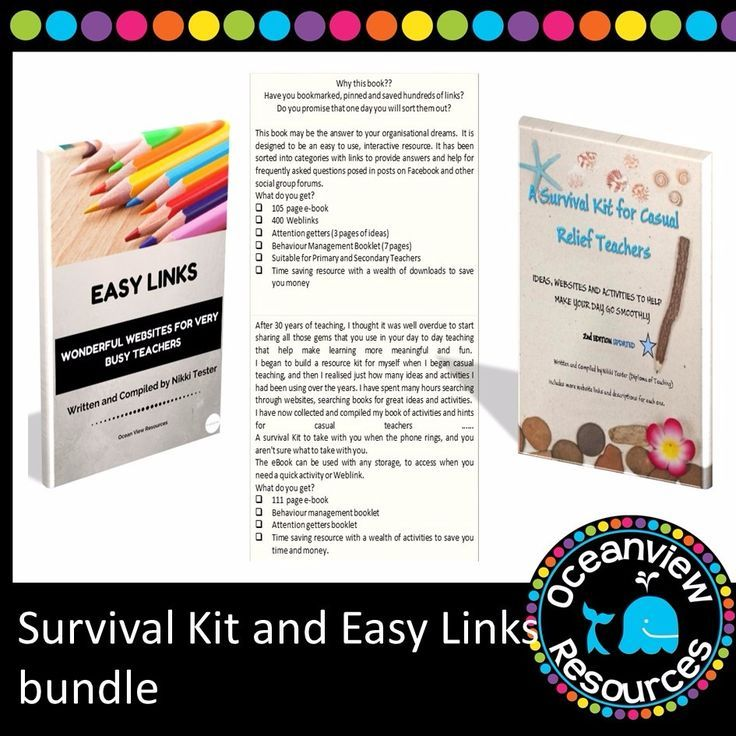 Survival Kit and Easy Links bundle - Ocean View Resources