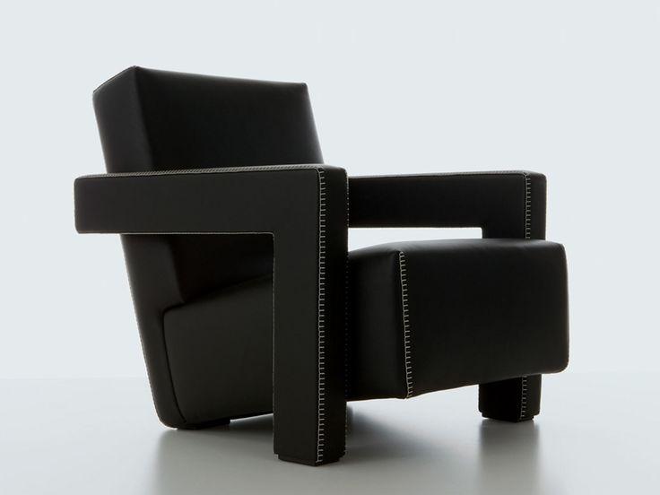 Cassina 637 Utrecht Armchair designed by Gerrit Rietveld