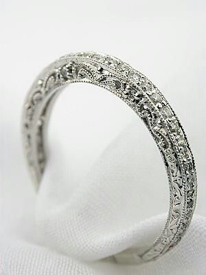 Men ...NEVER never get clustered diamonds for a woman..ever.. always a solitaire diamond or a simple band!