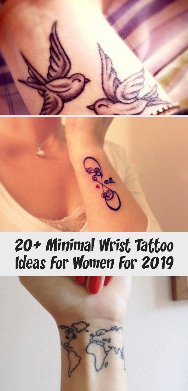 20+ minimal wrist tattoo ideas for women for 2019