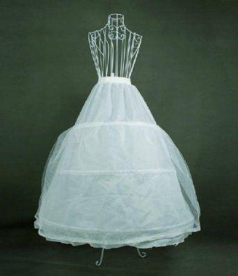 Amazon.co.jp: パニエウエディングドレス・カラードレス・ロングドレス用パニエ100パーセント実物撮影!豪華版激安上品 T69: 服&ファッション小物