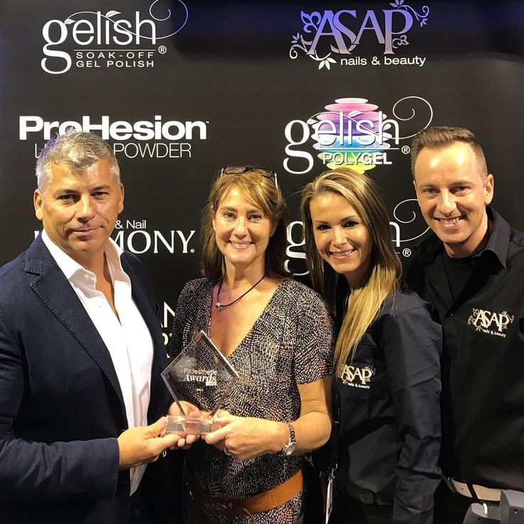 We're honored to announce that Gelish PolyGEL® has been awarded Most Innovative Nail Product of 2017 by #Proesthétic. The voters were Belgium's most recognized beauty editors and style influencers.  #makethemgelish #PolyGEL @asap_nails_beauty