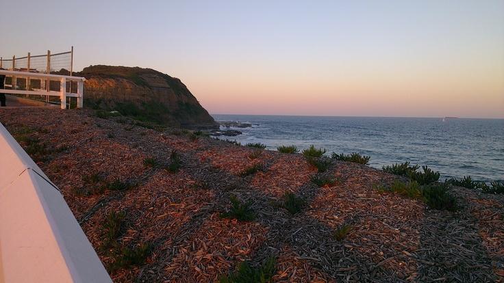 Bar Beach (Photo by me using htc smart phone)