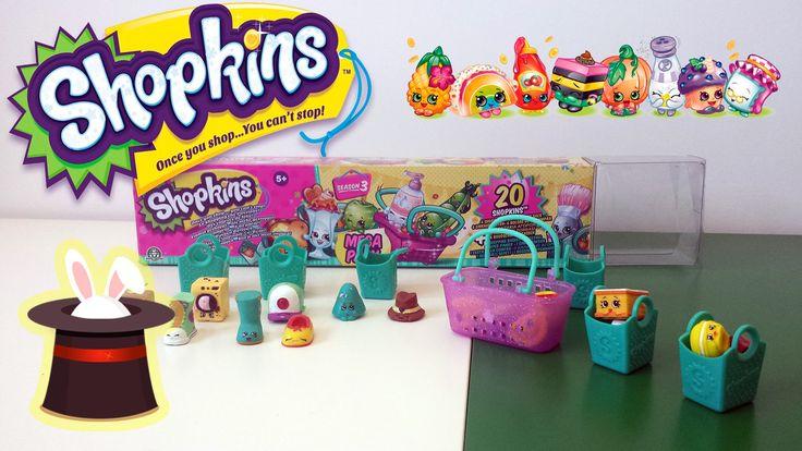 [MEGAPACK] Juguetes de shopkins en español - Temporada 3 shopkins
