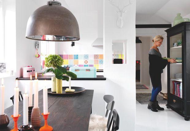 Hjemme hos camilla h eg fra go 39 morgen danmark bolig for Interior design 6 october