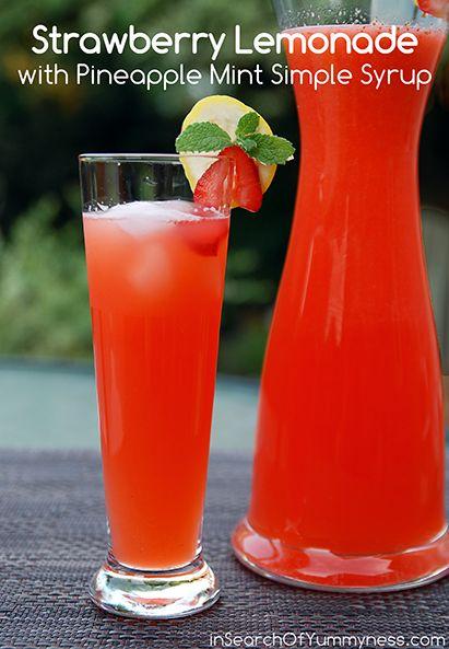 ... Simple Syrup  Recette  Limonade faite maison, Fait maison et Été