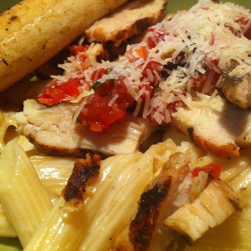 Applebee's Three Cheese Chicken Penne Pasta Recipe - MasterCook