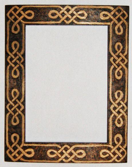 Knot frame by *llinosevans on deviantART