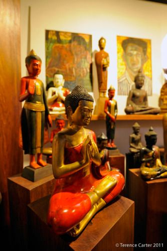 Theams House. Shopping in Siem Reap, Cambodia.