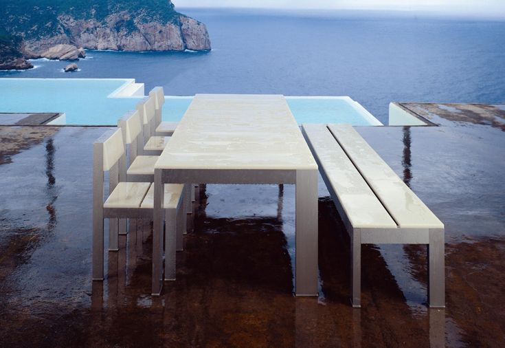 Na Xemena Mesa - Designer Outdoor tables by Gandia Blasco ✓ Comprehensive product & design information ✓ Catalogs ➜ Get inspired now