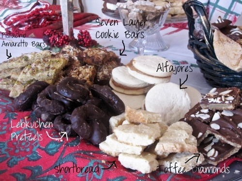 Dozens of cookies that I made for christmas, with recipe links.: Recipes Link, Yummy Recipes