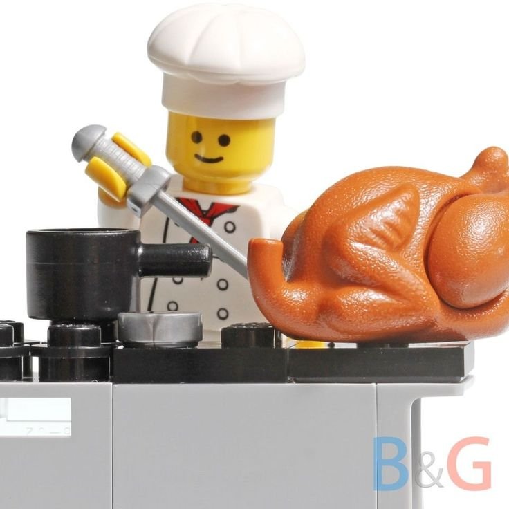 Lego Custom Chef & Kitchen Oven Turkey Inspired Parisian Restaurant 10243 - NEW by Brick2you on Etsy