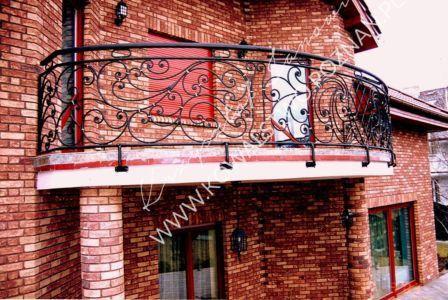 Balustrada balkonowa wzór 6
