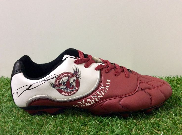 DALY CHERRY-EVANS Signed MANLY SEA EAGLES Football Boot 2015.