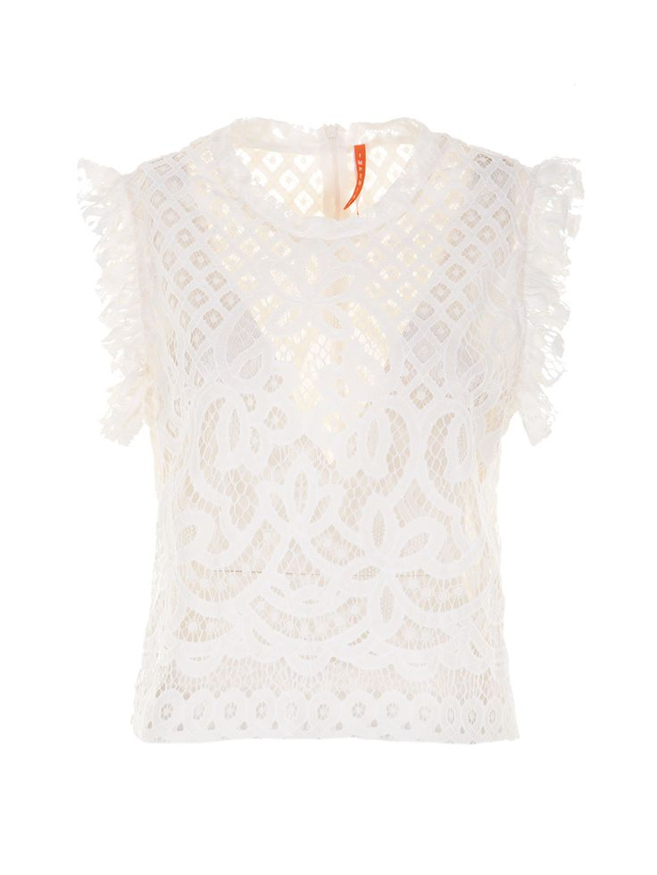 Lace Top #shopbylook #imperialfashion #Summer2016