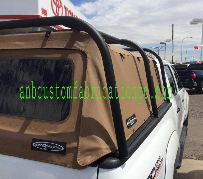 Bed Rack Over Soft Top Tacoma Truck Truck Accessories Tacoma Accessories