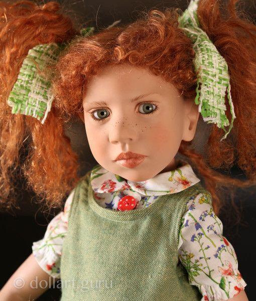 Olive-Trinnette. Коллекционная кукла Цвергназе (Zwergnase)