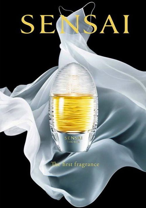 Sensai The Silk ~   High-end Japanese cosmetics company Sensai (which was under Kanebo until 1998) announces the launch of its first perfume line. Since silk is used in all the Sensai products, the perfume line is named The Silk. In August 2015, The Silk Eau de Parfum and The Silk Eau de Toilette launches around the world.