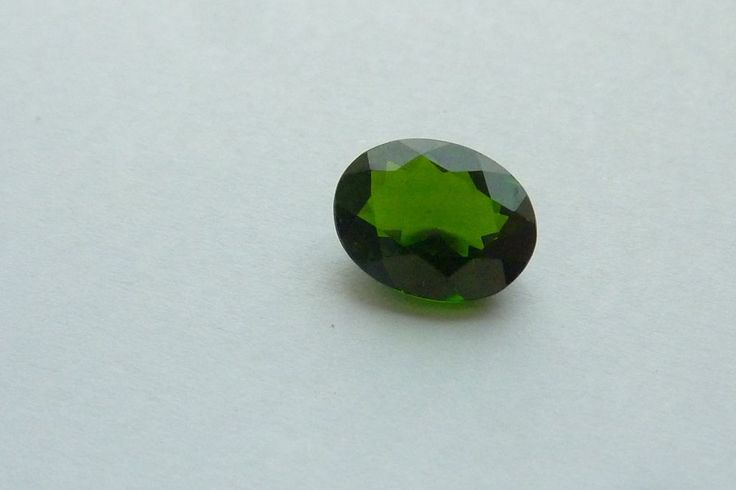 1.78 Cts 100% NATURAL RUSSIAN CHROME  DIOPSIDE OVAL SHAPE LOOSE GEMSTONE #KinuBabaGems