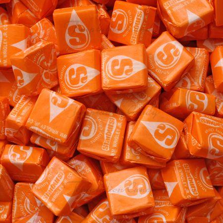 Yummy Sunny Citrus Starburst in my Tummy! #Starburst #Orange #Candy #Cirtus