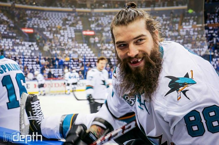 Favorite guy! Brent Burns! Burnzie