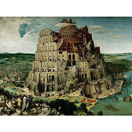 Jigsaw Puzzle 5000 Pieces Ravensburger The Tower of Babel Toy For Kid Boys Girls #Ravensburger