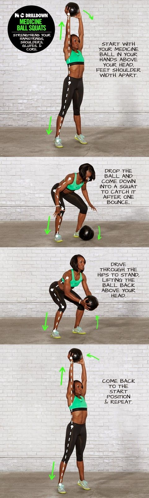 medicine ball squats