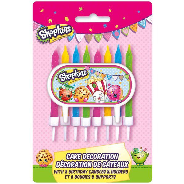 Shopkins Pencil Favors 8//Pkg Birthday Party Supplies free shipping