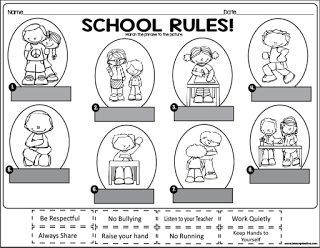 This is an awesome activity to use during the first week of school. You can use it as morning work or as a group activity as you are going over school rules for your class. Be sure to download it here