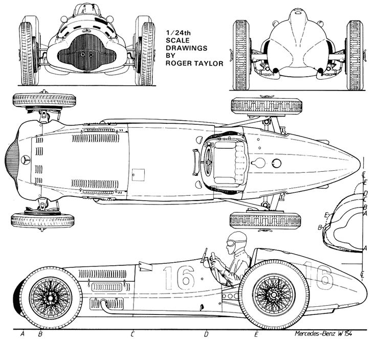 Mercedes benz w 154 mercedes benz racing cars for Mercedes plan