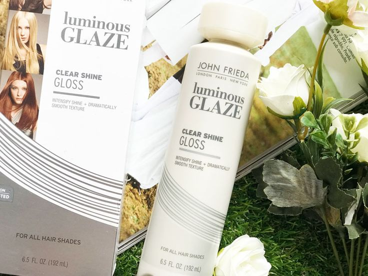 Luminous Glaze Clear Shine Gloss John Frieda