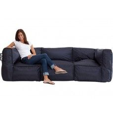 The Big Joe Zip Modular 4 Pc Sofa 2 Corners Armless Bean Bag ChairsBean