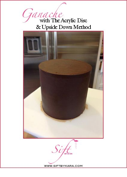 Ganache With The Acrylic Disc And Upside Down Method Free