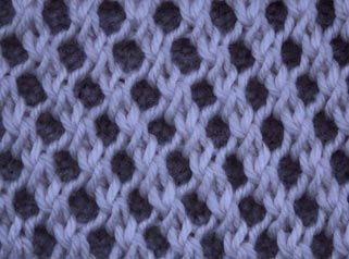 Mesh Stitch To The Left I - Stitch Sample lots of free stitch patterns. Perfect for creating my own patterns