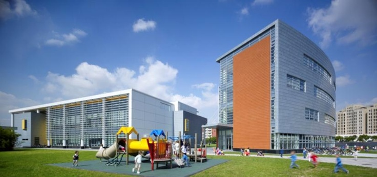 Concordia International School Campus in Shanghai, China by Perkins Eastman