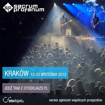 Mamy przyjemność współpracować z Festiwalem Sacrum Profanum #sacrumprofanum #festival #otodojazd #Krakow #wspolpraca