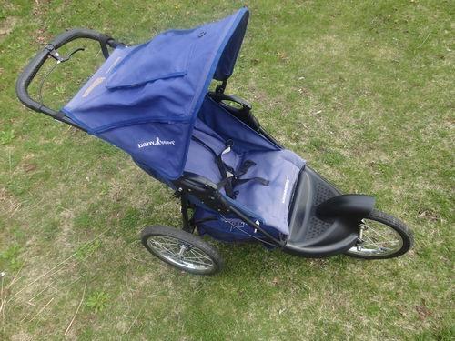 Baby Trend Jogging Stroller Expedition Model 9192t Blue