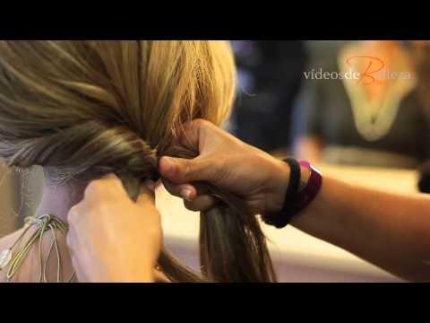 www.videosdebelleza.com  TRENZA DE ESPIGA