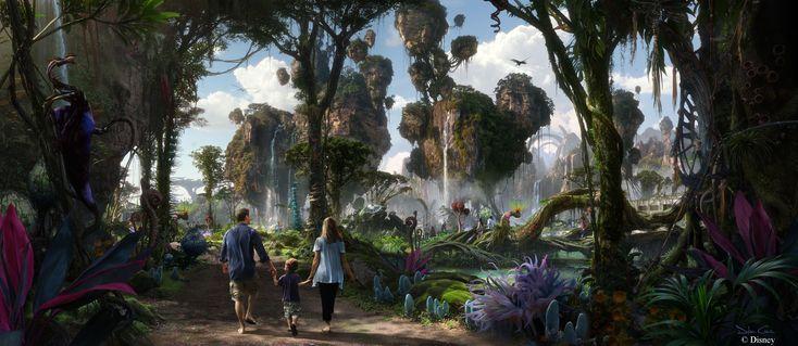 Disney Animal Kingdom Avatar Land concept art (2014)