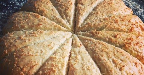 Coconut Bake (coconut scone) recipe from Trinidad & Tobago. Aberdeen's Cake Club bakes to victory for the Commonwealth Games.