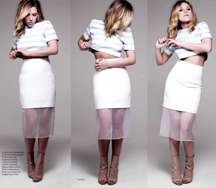 Scarlett Johansson- Elle UK February 2013