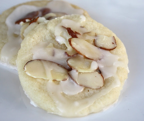 good almond cookie recipe, they're my favorite!