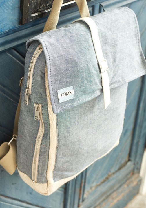 Step out into your next adventure with the TOMS Trekker Backpack.