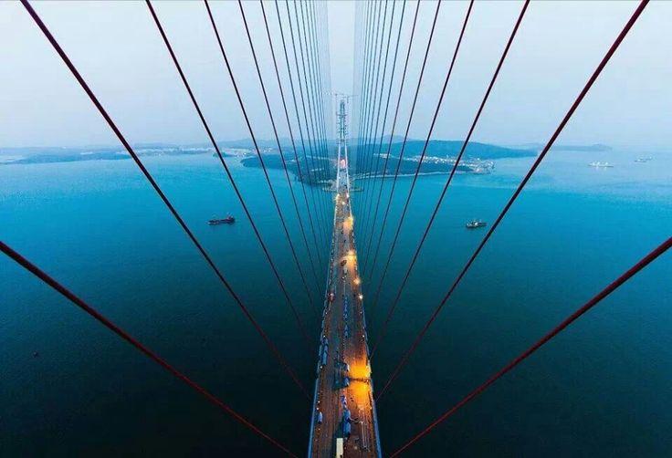 """Russky Bridge Vladivostok"""